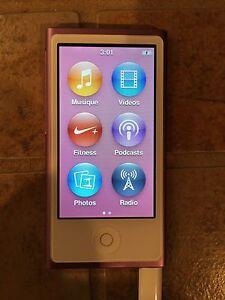 iPod 16 go extérieur rose