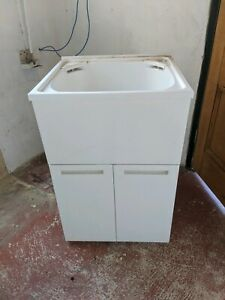 Laundry Tub cabinet plastic