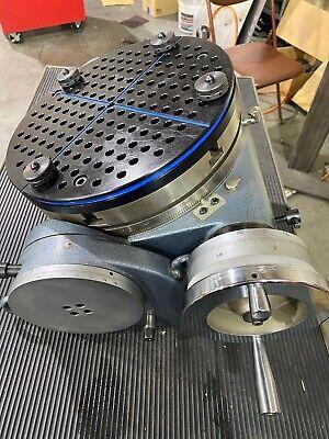 Yuasa 12 Table Diameter Tilting Rotary Machining Table
