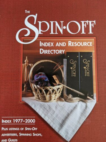 The Spin-Off Index and Resource Directory - Index 1977-2000 Plus Shops Guilds +