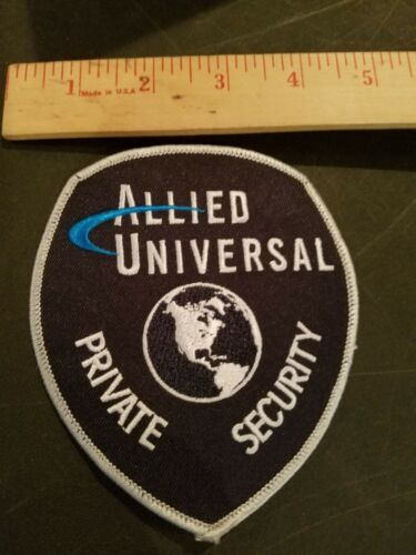ALLIED UNIVERSAL SECURITY SERVICES PATCH