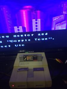 Super Nintendo SNES working
