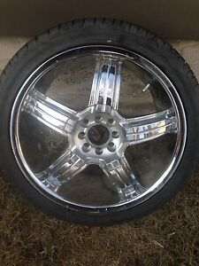 "18"" Drïv Chrome Rims and Tires"