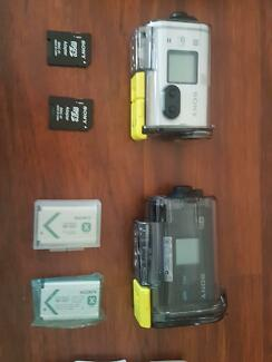Sony action cameras bundle save $$$$