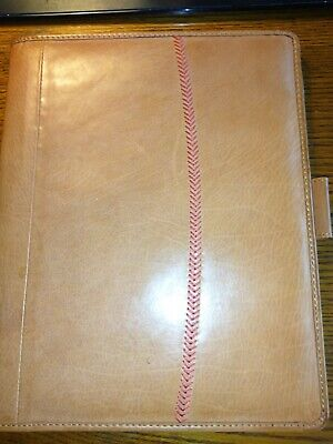 Rawlings Leather Portfolio - Letter Size Pad Cover. New In Box
