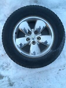 """4 20"""" rims and tires for Dodge Ram"""