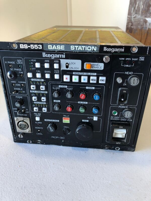 Ikegami  BS-553 Base Station RCP-30 Television Broadcast Equipment