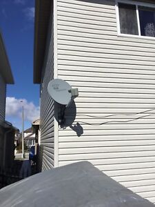 Bell ExpressVu Satellite and Receiver