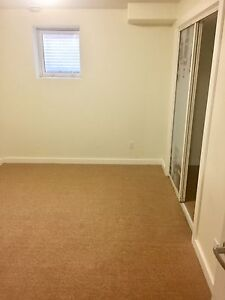 Basement suite with two bedrooms available
