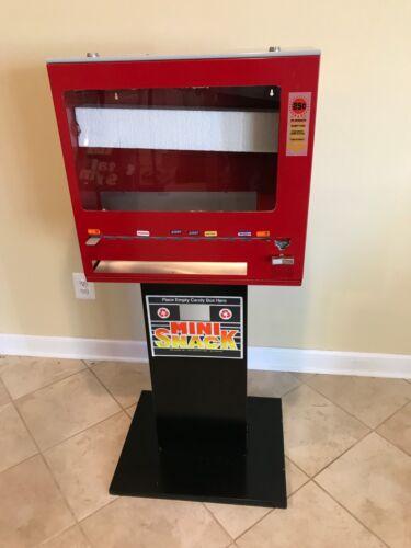 Vintage Mini Snacks 25 cent Candy Bar Vending Machine
