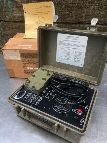 NEW in BOX Bren-Tronics BTC-UN108 PP-8444/U Battery Charger w/ BTA-70834 Adapter