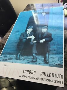 Beatles poster board