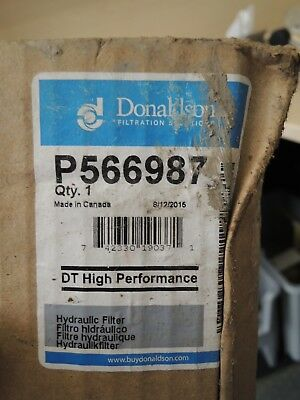 Nib Donaldson P566987 Dt High Performance Hydraulic Filter
