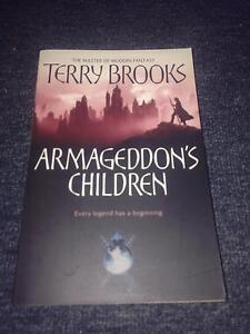 Terry Brooks Armageddons Children Wollongong Wollongong Area Preview
