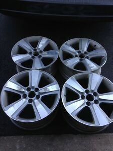 4-Set of rims 18 inch 5X14,3