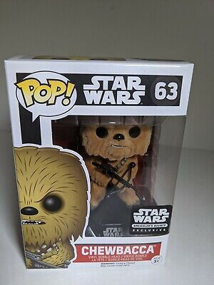 Funko POP! Star Wars Chewbacca #63 Exclusive