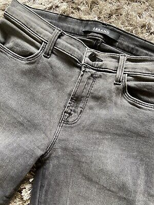 J Brand Grey Wash Nightbird Super Skinny Jeans Size 27