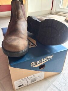 Size 5(8US) Rustic Brown Blundstone's