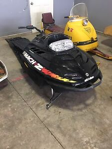Skidoo Mach z ck3 parts grand touring