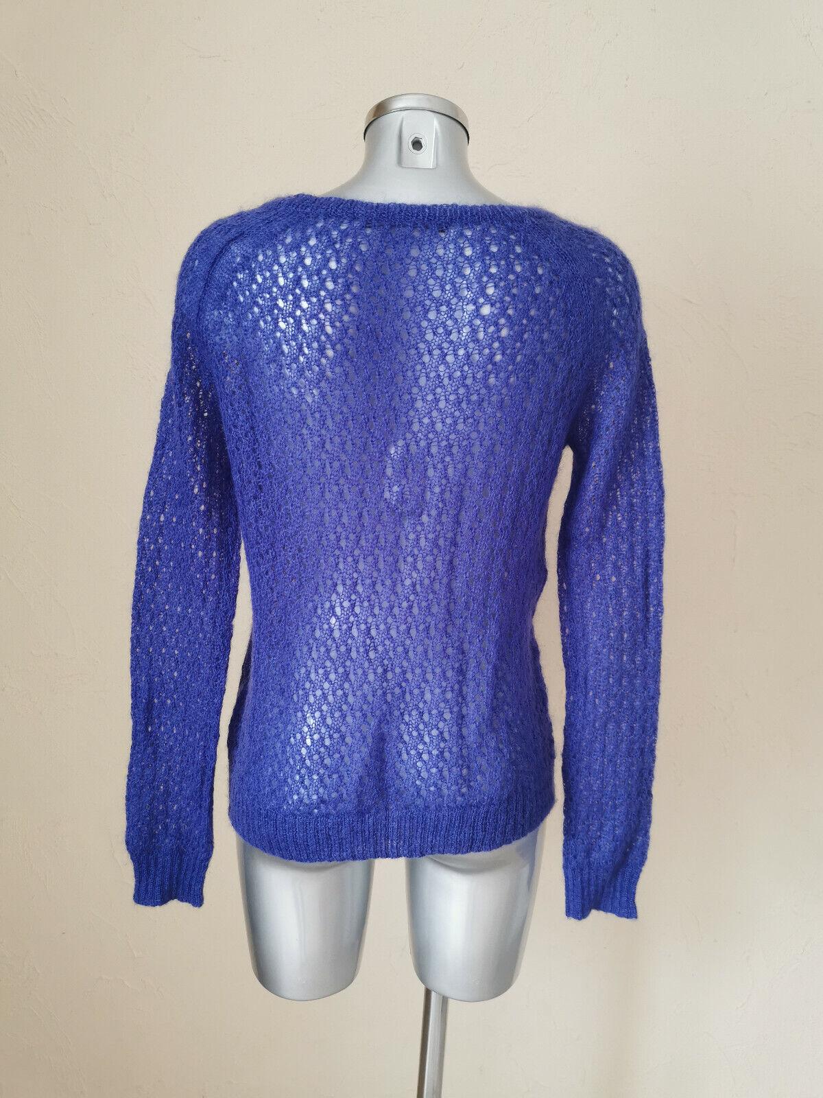 Comptoir des cotonniers - pull mohair - violet - taille s soit 36fr