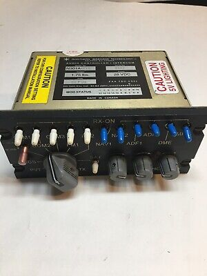 NAT Northern Airborne A301A-519 Audio Controller