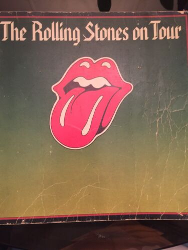 The Rolling Stones On Tour Book 1st Edition Mick Jagger Keith Richards - $19.99