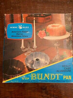 Vintage Nordic Ware 12 Cup Bundt Pan Tangerine 12-cup Bundt Pan