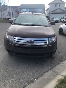 Ford Edge - rebuilt status , burgundy Colour , all wheel drive