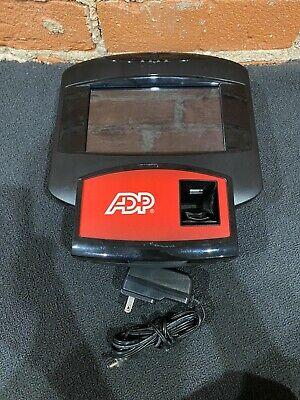 Adp700 Adp 700 Biometric Fingerprint Attendance Time Clock Legacy Touch Screen