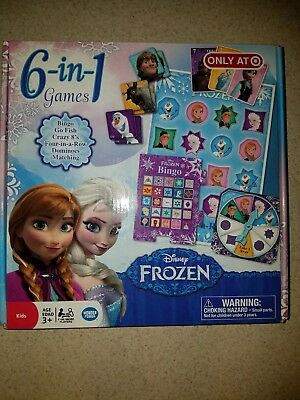 Frozen 6 In 1 Game Collection