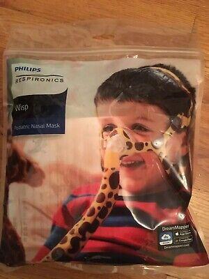 Philips 1104953 Wisp Pediatric Nasal Mask 1 New Sealed