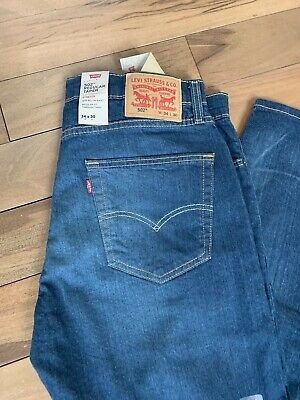 Levi's 502 Regular Taper Jeans Size 34x30 Stretch Sits Bellow