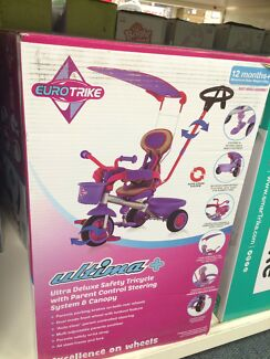 Brand new Euro trike ultima plus ultra deluxe safety tricycle 12m+