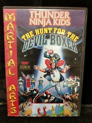 Thunder Ninja Kids The Hunt For The Devil Boxer Martial Arts Used DVD M2-L - Ninja Movies For Kids