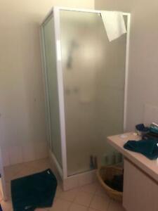 Shower screen for in built shower