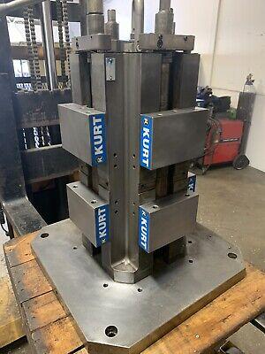 Kurt Vise 6 In Towertombstone Dual Clamp Ct604 Mill Machinist Horizontal Double