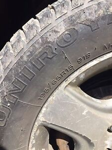 BRAND NEW 195/65 R15 winters