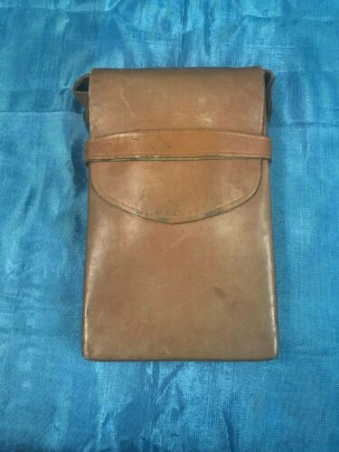 AUTHENTIC VINTAGE POLAROID SX70 LEATHER CAMERA CASE