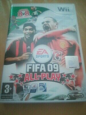 FIFA Soccer 09 All-Play (Nintendo Wii, 2008) - US Version, used for sale  Shipping to Nigeria