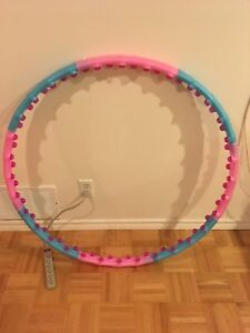 Weighted Detachable  Hula Hoop with Knobs
