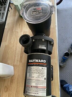 Hayward SP1580 Power Flo LX Above Ground Swimming Pool Pump, 1 HP With Cord
