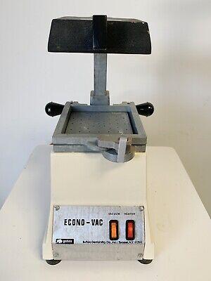 Buffalo Dental Econo-vac Vacuum Former Lab Vac Forming Machine Sn 154037