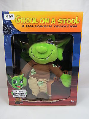 *NEW* Ghoul on a Stool w/ Hardcover Book Halloween Tradition HTF!  S3 5