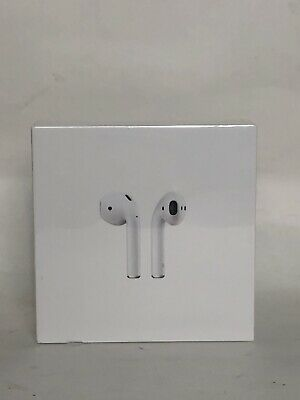 Apple AirPods 2nd Generation with Charging Case - White, BRAND NEW, SEALED