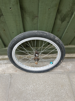 Bmx bike SE racing front 20inch wheel rim and tyre bicycle
