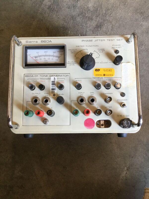 Philco Sierra 860A Phase Jitter Test Set