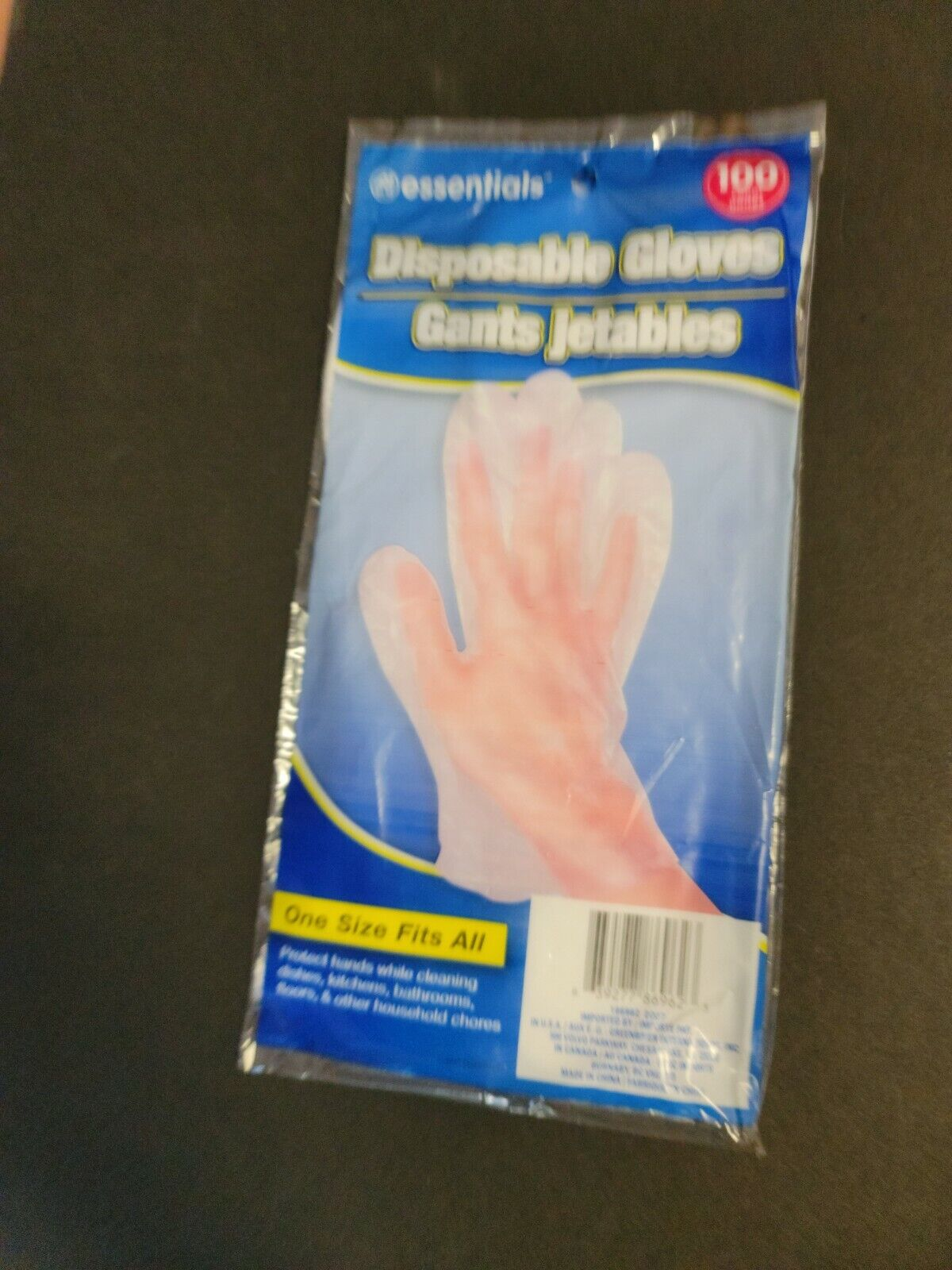 100 GLOVE WORKS Disposable Gloves Clear One Size - $6.90