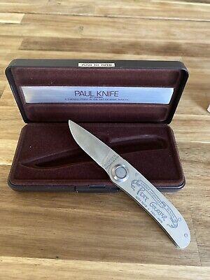 Rare Gerber Paul Knife 2P 40th Anniversary Year 1939 - 1979 #551/2500