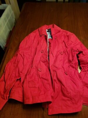 Cheap Red Capes (George XL 16-18 Ladies Red Jacket Nice Look Cheap)