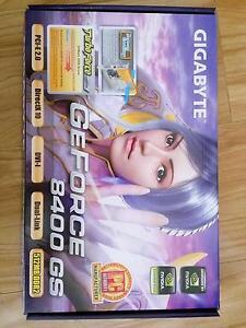 Gigabyte GeForce 8400 GS PCI-E graphic card Bundoora Banyule Area Preview
